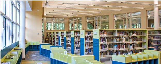 East Roswell Library Interior 2